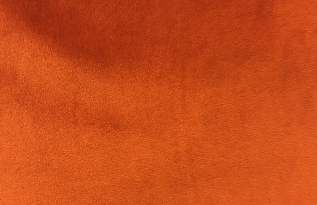 Soft orange fabric