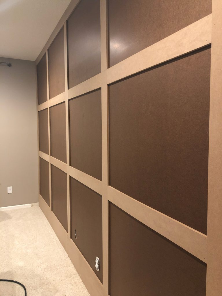 Prepped wall